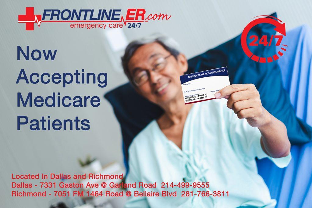 Frontline ER accepts Medicare