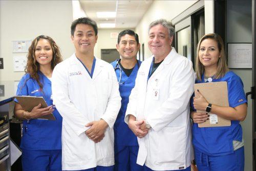 Doctors at Frontline ER in Dallas, TX